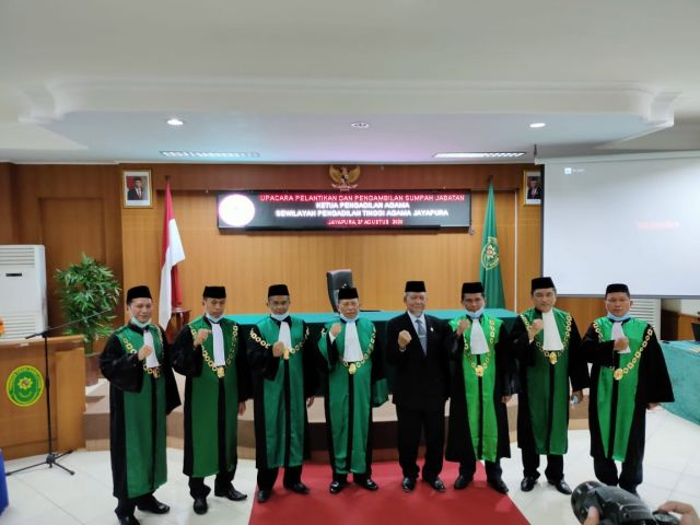 Pengadilan Agama Nabire Miliki Ketua Baru