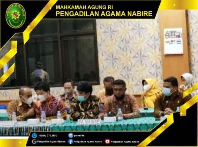 Pembinaan serta Diskusi Hukum Pengadilan Tinggi Agama PTA Jayapura, 28-10-2021