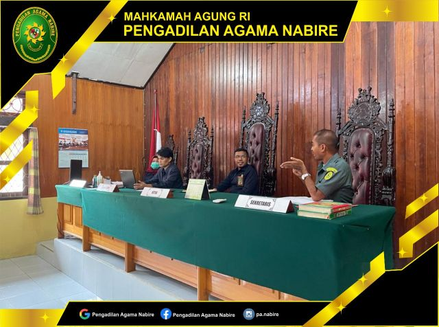 Rapat Lanjutan pembahasan penyusunan eviden APM, ZI, PTSP dan Sarana Prasarana 14-09-2021